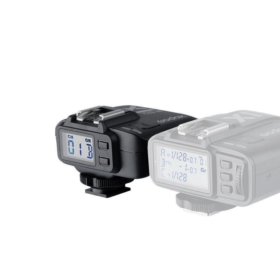 Receptor Rádio Flash para Câmeras Nikon Godox TTL X1R-N   - Fotolux
