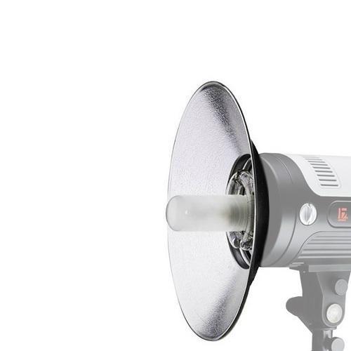 Refletor Wide Angle 120° para Flash Montagem Bowens Greika RFT-04