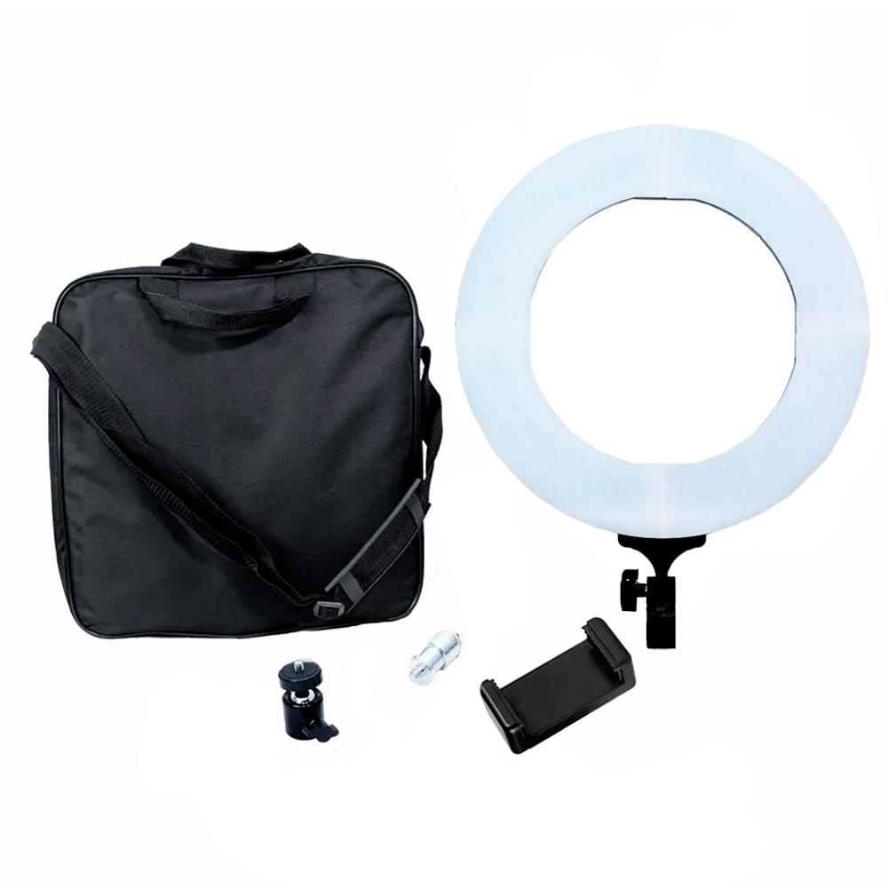 Ring Light 60W LED com 35cm Diâmetro para Iluminação de Foto e Vídeo (sem tripé)  - Fotolux