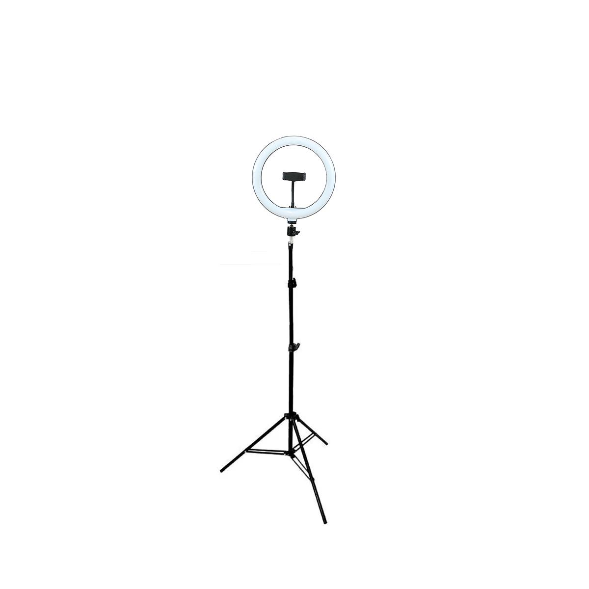 Ring Light LED 10 polegadas com Tripé 2m Luz para Foto ou Vídeo