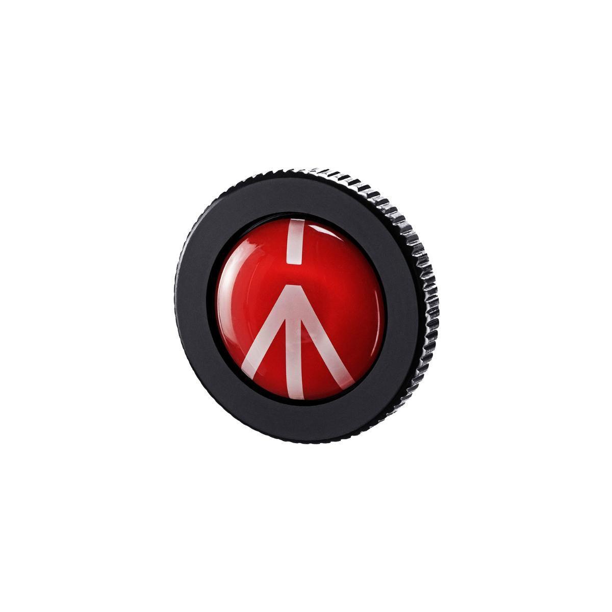 Sapata Manfrotto ROUND-PL Quick Release para Tripés Manfrotto Compact Action  - Fotolux