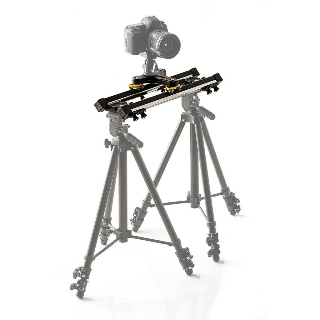 Slider 50cm com Carrinho Twiddle Alhva para Gravação de Vídeo