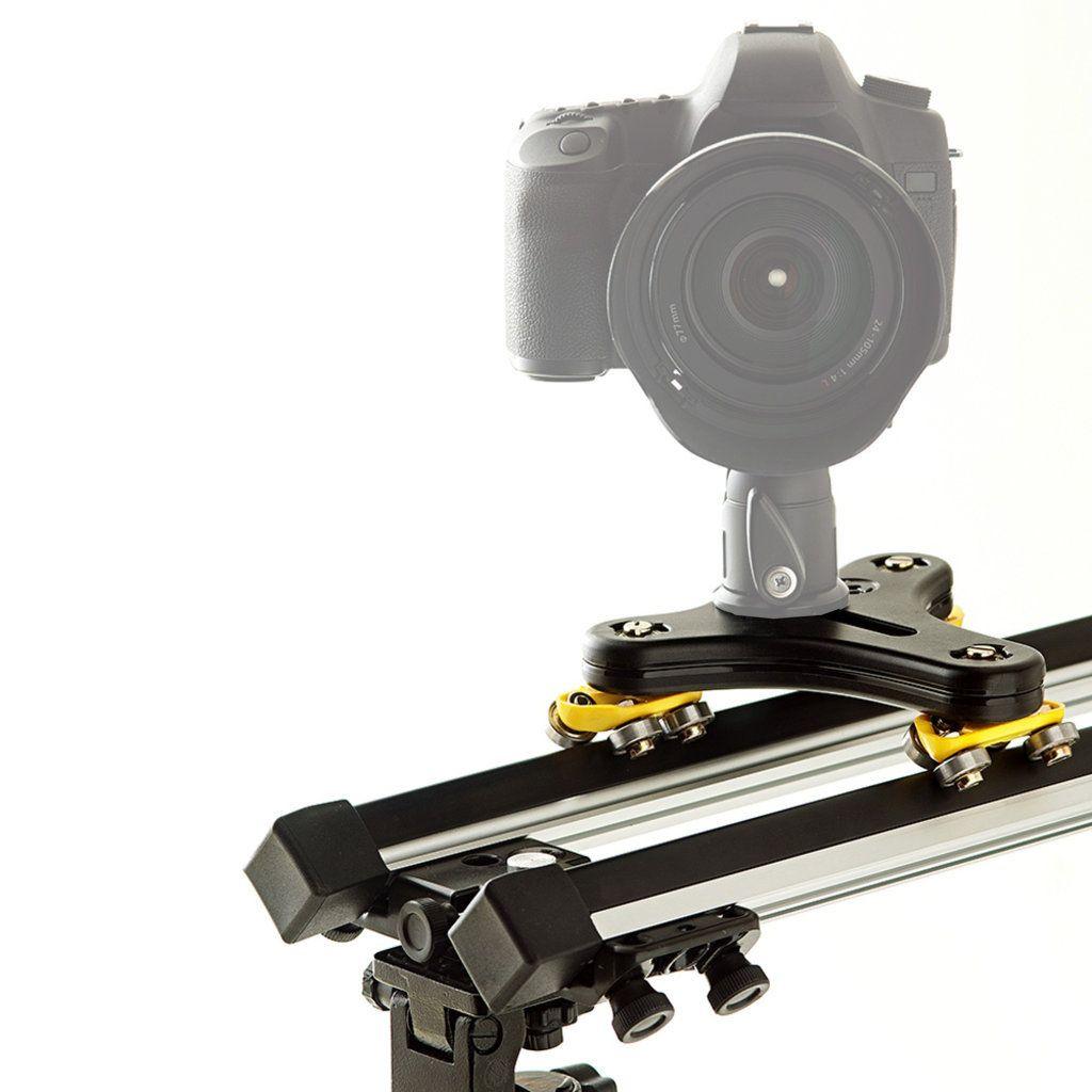 Slider para Filmagem Alhva de 75cm com Carrinho Twiddle