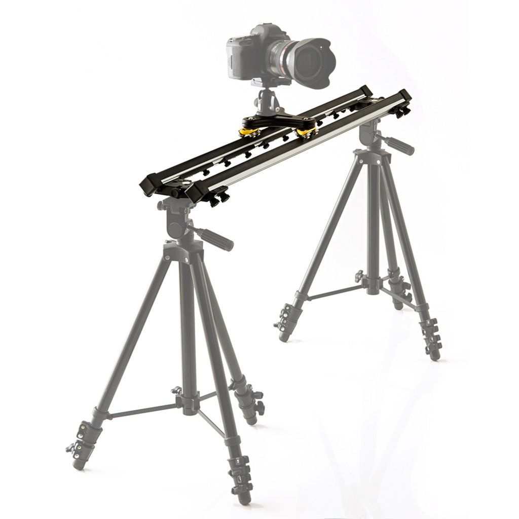 Slider para Filmagem Alhva de 75cm com Carrinho Twiddle  - Fotolux