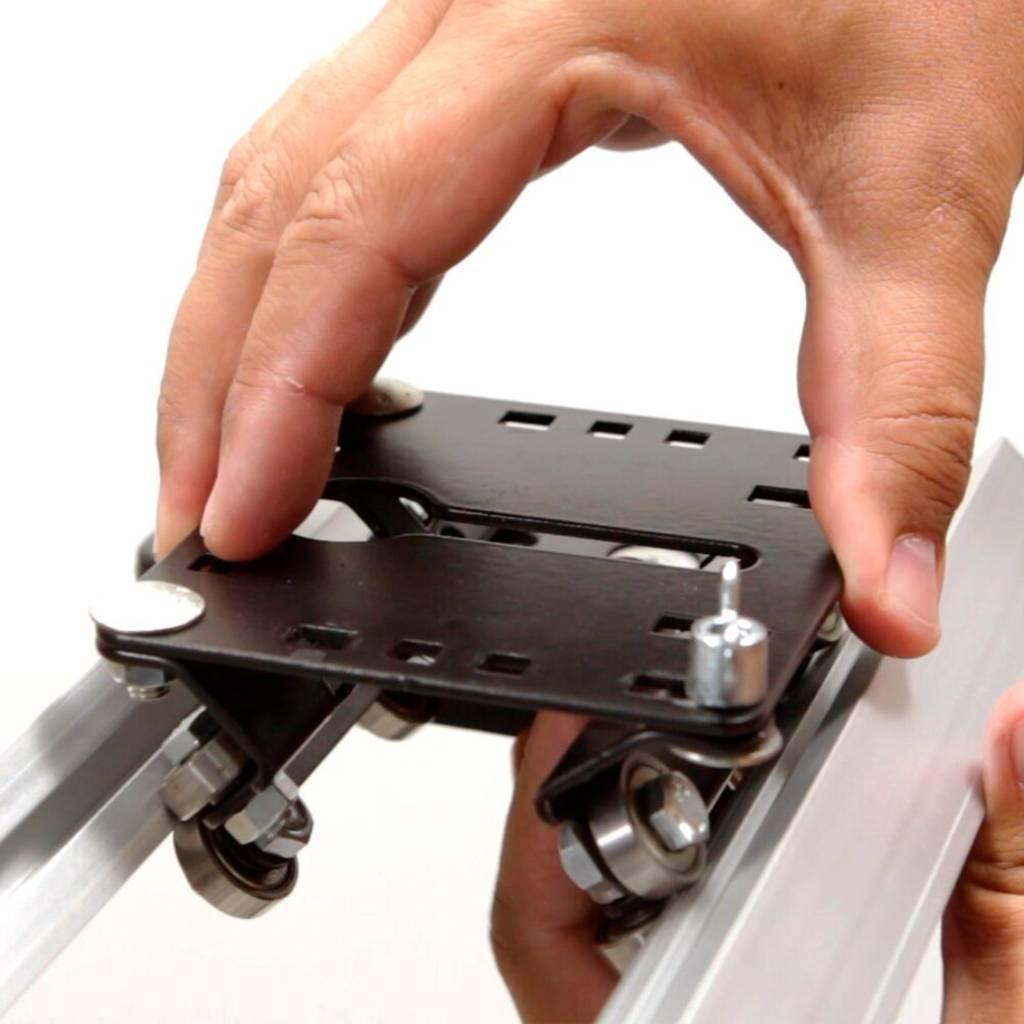 Slider Slip 75cm 2 Alhva com Carrinho para Filmagens Profissionais