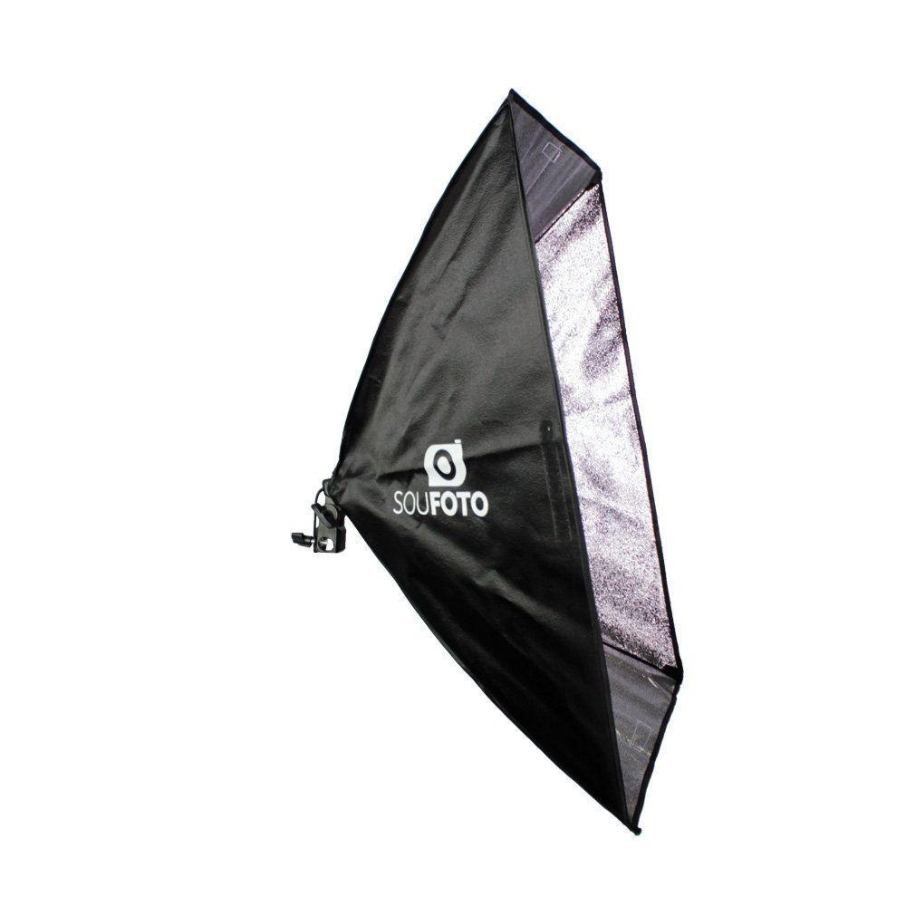 Softbox 50x70cm com Soquete E-27 Embutido Sou Foto SBS-50x70 para Estúdio Fotográfico