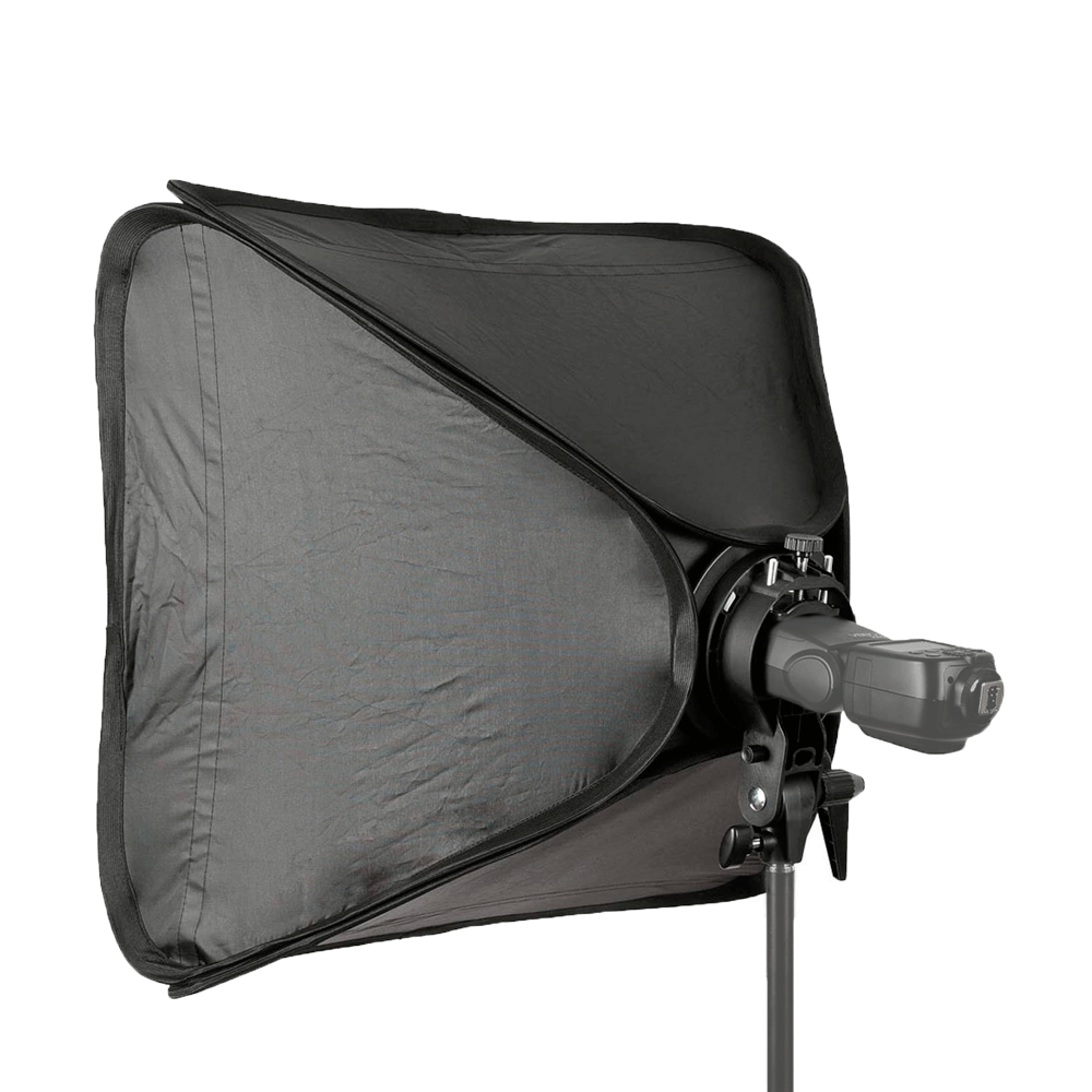 Softbox Godox 60x60cm para Flash Speedlite  - Fotolux