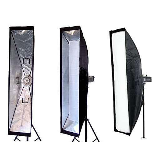 Softbox Greika 35x160cm para Flash Tocha de Estúdio com Encaixe Bowens  - Fotolux