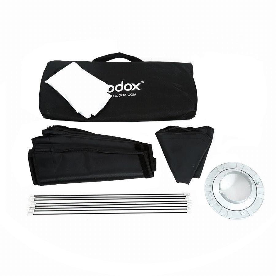 Softbox Octagonal 95cm Godox para Flashes com Conexão Padrão Bowens