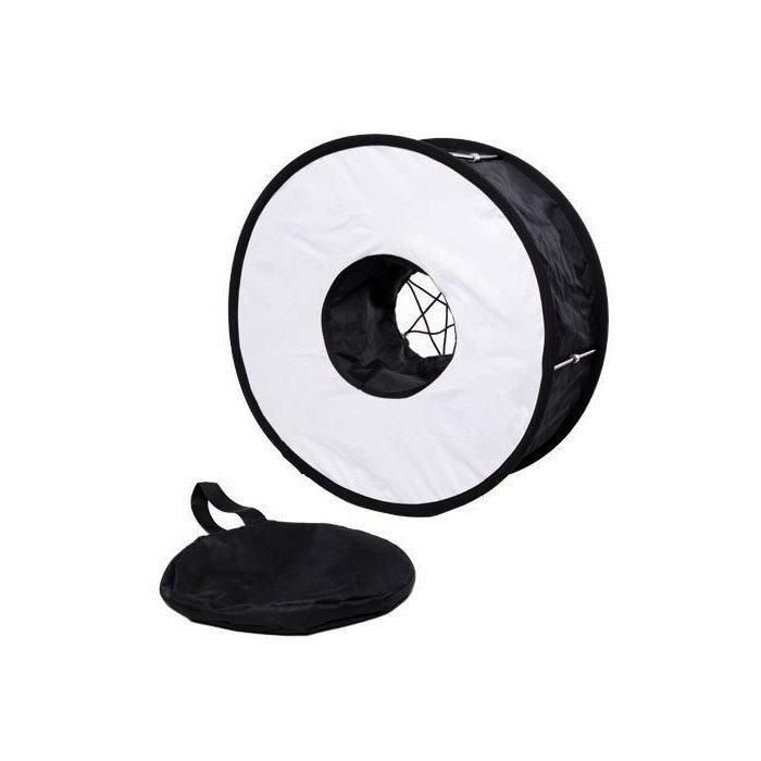 Softbox Ring para Flash Speedlite 45cm de Diâmetro Greika
