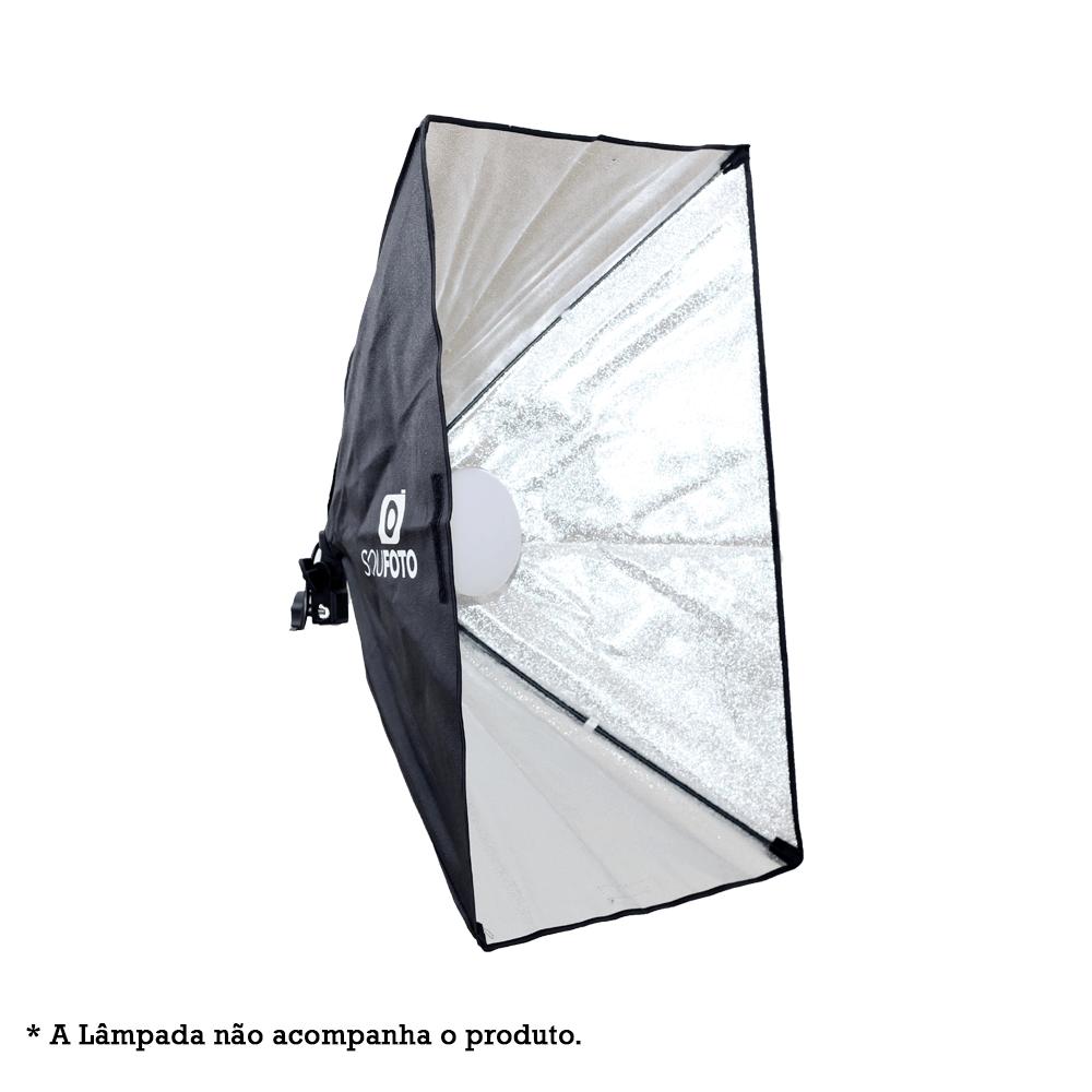Softbox Sou Foto 50x70cm com Soquete E-27 Embutido SBS-50x70 para Estúdio Fotográfico  - Fotolux