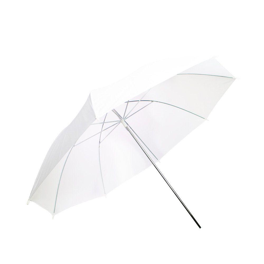 Sombrinha Branca Difusora Suavizadora Sou Foto SBD-84 com 84cm de Diâmetro para Estúdio Fotográfico  - Fotolux