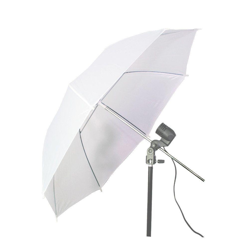 Sombrinha Branca Difusora Suavizadora Sou Foto SBD-84 com 84cm de Diâmetro para Estúdio Fotográfico