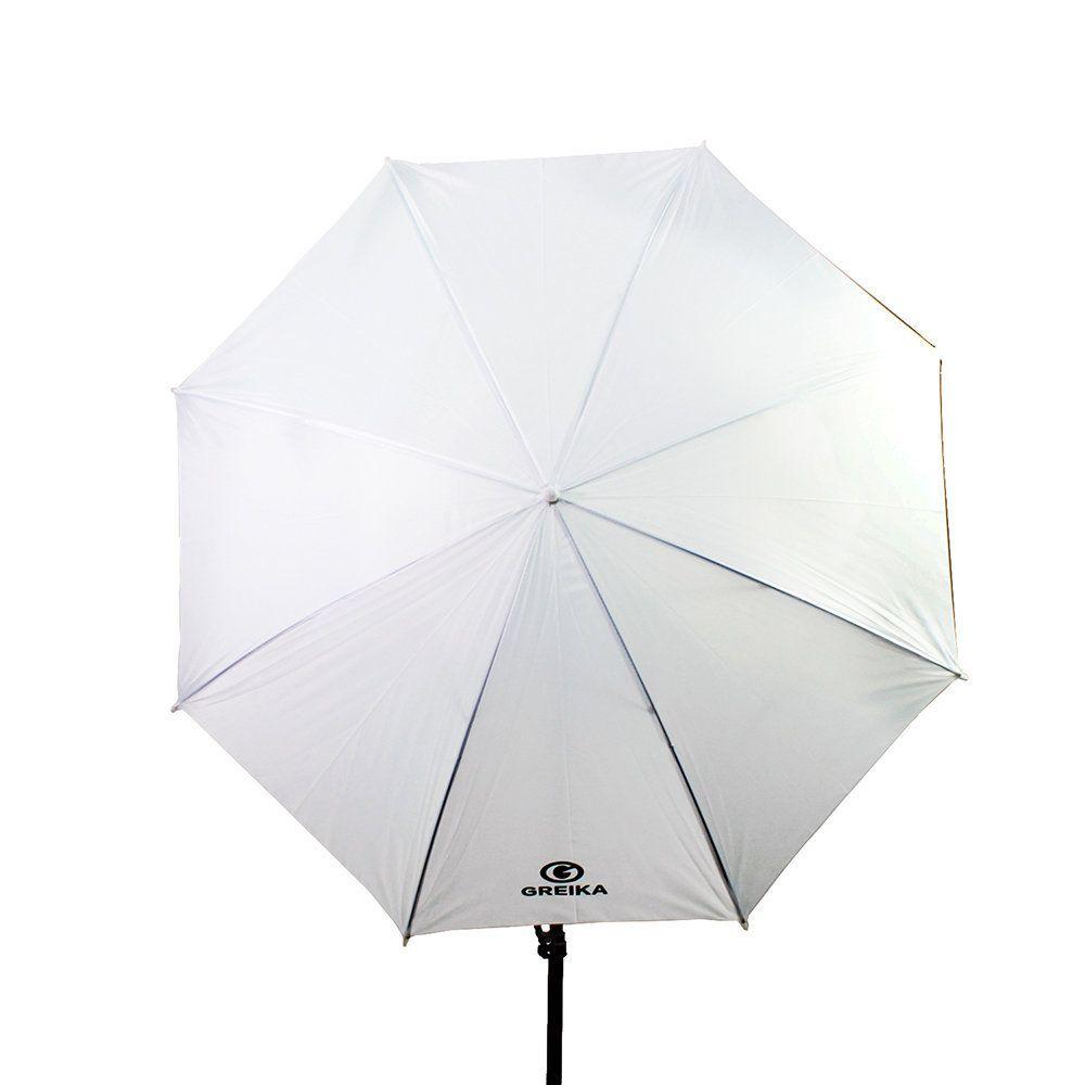 Sombrinha Difusora Greika S-40 101cm Branca para Estúdio Fotografia