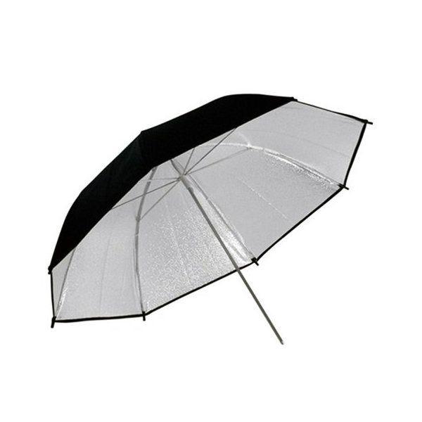 Sombrinha Refletora Preta e Prata 84cm Easy para Estúdios Fotográficos  - Fotolux