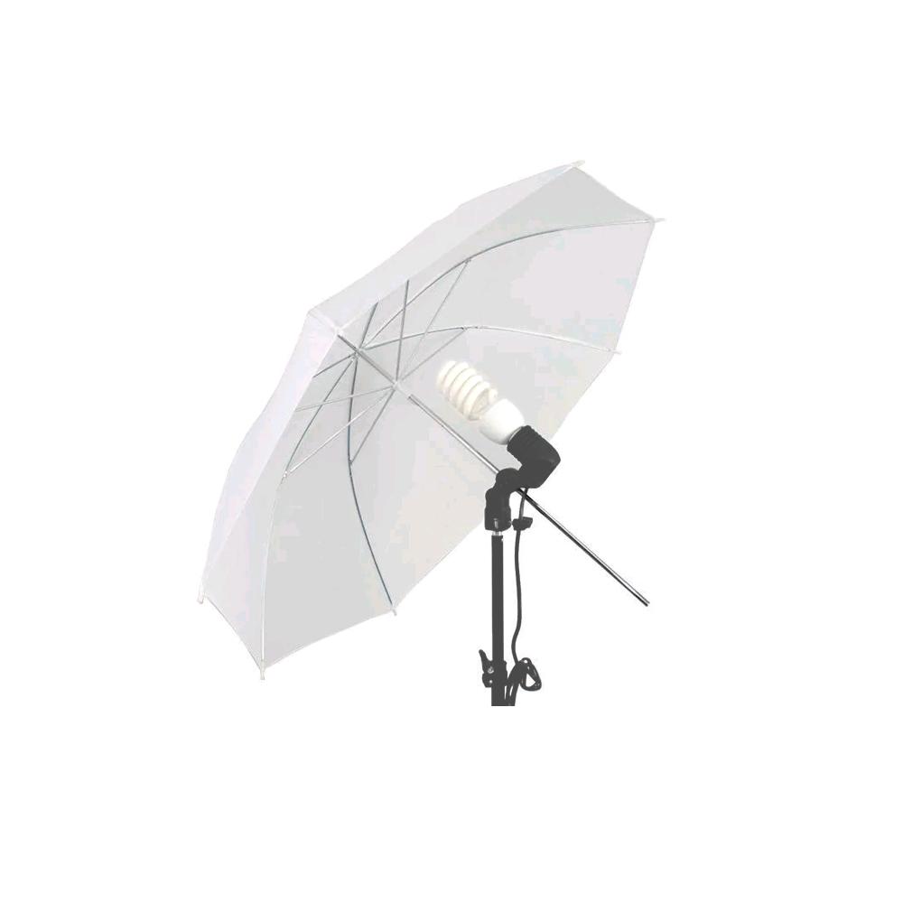 Sombrinha Difusora Branca 84cm para Iluminação de Fotos e Vídeos Greika YU304-84  - Fotolux
