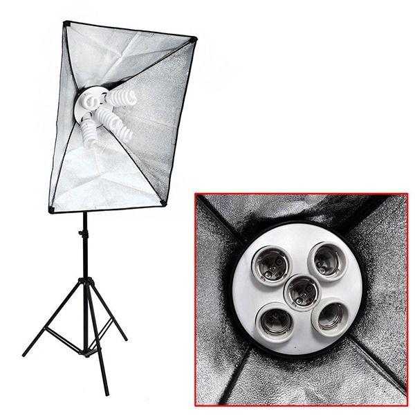 Soquete Iluminador Quíntuplo Equifoto para até 5 Lâmpadas  - Fotolux