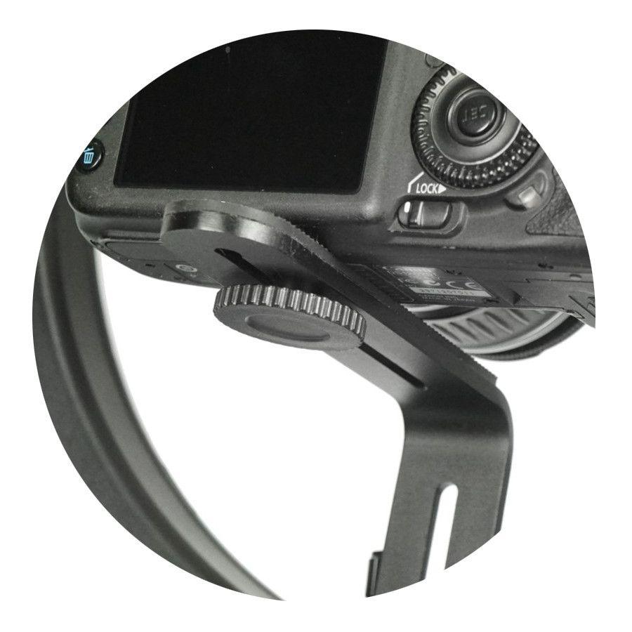 Suporte de Câmera L-TYPE Greika para Iluminador Led Ring Light  - Fotolux