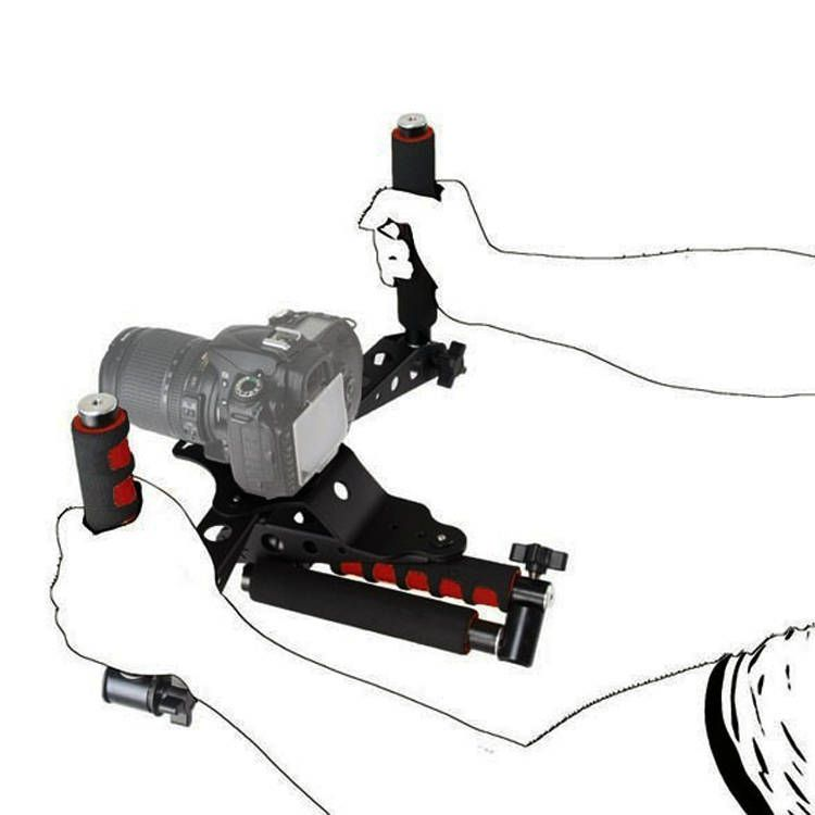 Suporte de Ombro RIG SP2 Greika para Câmera DSLR  - Fotolux