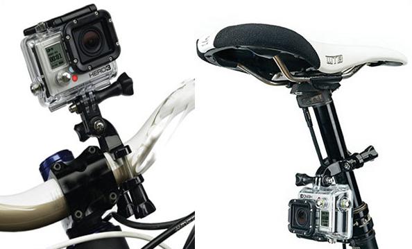 Suporte GoPro com 3 regulagem para Bike ou Moto  - Fotolux