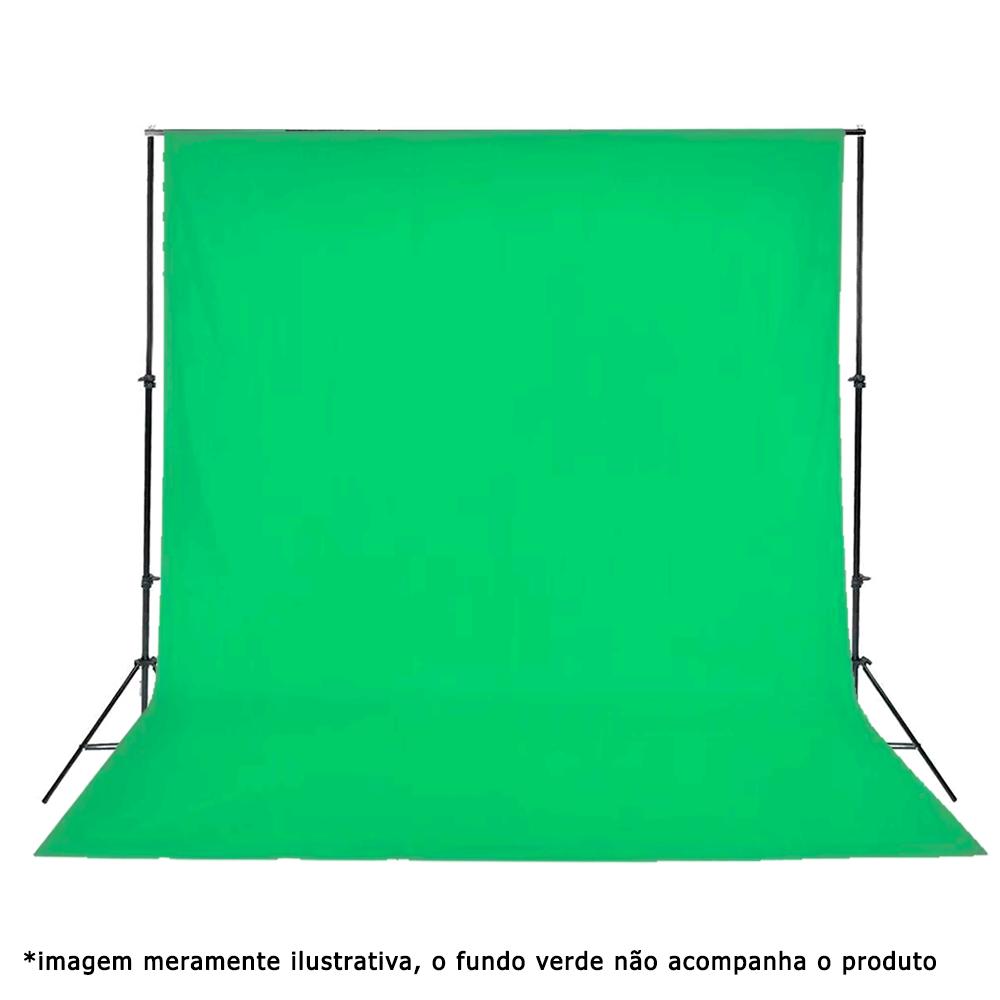 Suporte para Fundo Infinito 2,40m x 3m Sou Foto SFI-243 para Estúdio Fotográfico (sem tecido)  - Fotolux