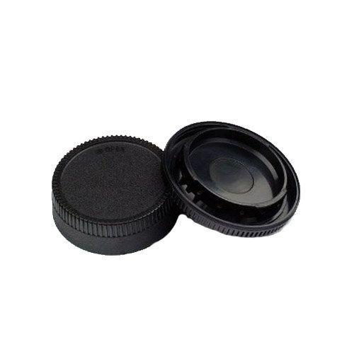 Tampas para Corpo e Lente de Câmera Nikon Montagem AL Greika RBC04  - Fotolux