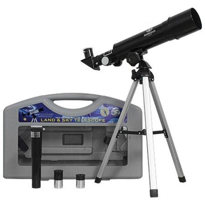 Telescópio com Tripé e Maleta Greika LUNETA-36050HD