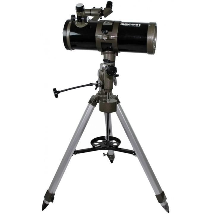 Telescópio Refletor Equatorial Newtoniano 1000x114 MM Greika TELE-1000114