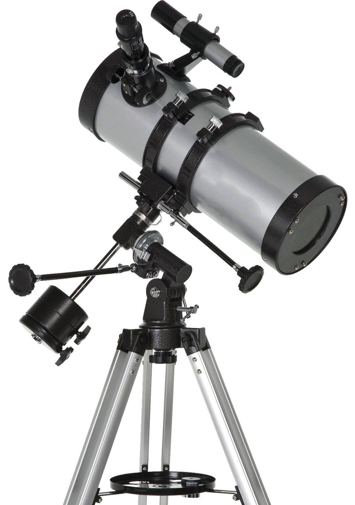 Telescópio Refletor Newtoniano Equatorial 1400x150mm com Ampliação 1050x - F1400150-EQ