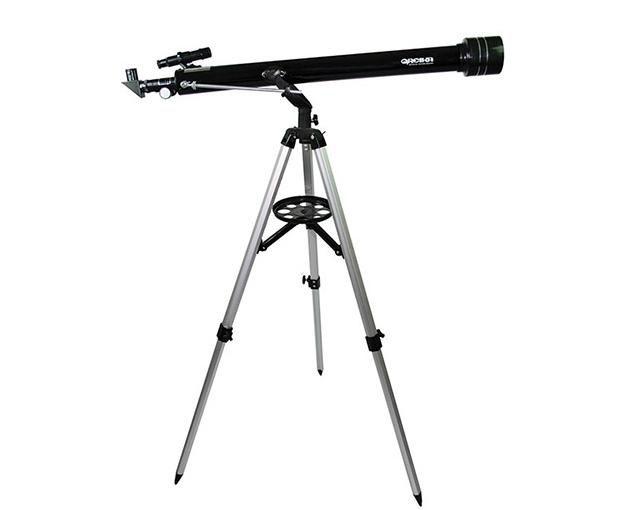 Telescópio Refrator Azimutal TELE-90060 com Ampliação até 650x para Observação  - Fotolux