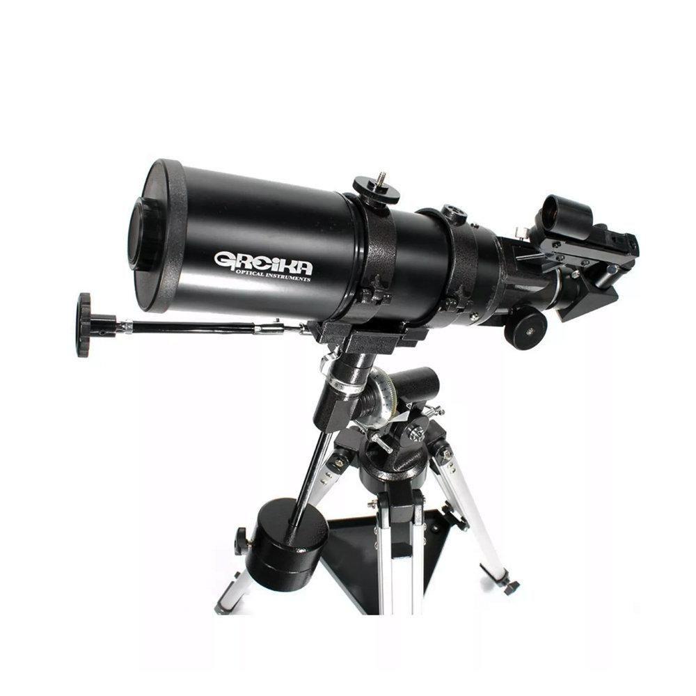 Telescópio Refrator Equatorial 400x80mm Greika com Ampliação 220x - BT-40080EQ