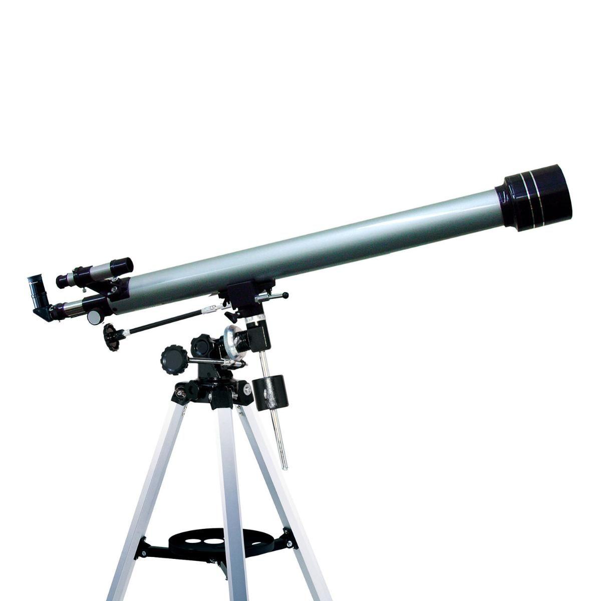 Telescópio Refrator Equatorial 900x60mm com Ampliação 675x - F-90060EQ