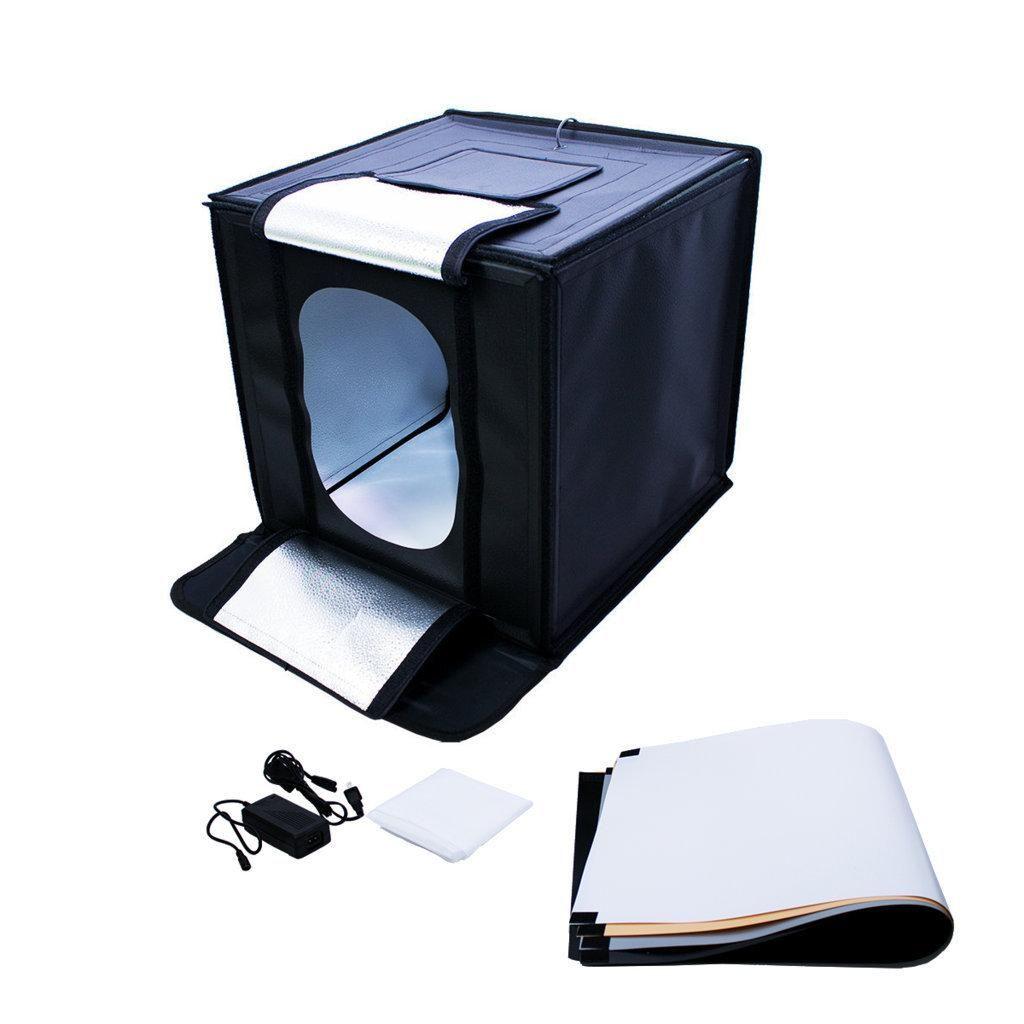 Tenda Fotográfica 40x40cm com Iluminação Led 50W para Fotos de Produtos - LED440