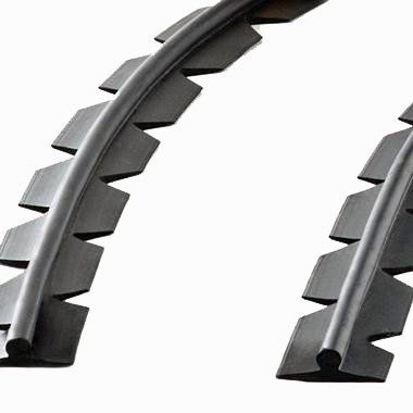 Trilho de Borracha Flexível para Slider Way Alhva