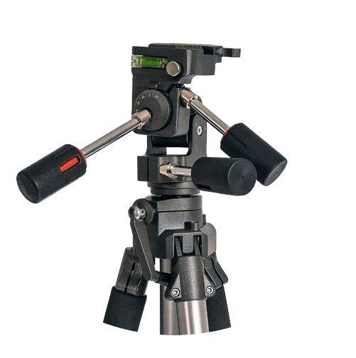 Tripé de Câmera com Cabeça Fluída 3 Vias 165cm Weifeng WT6905