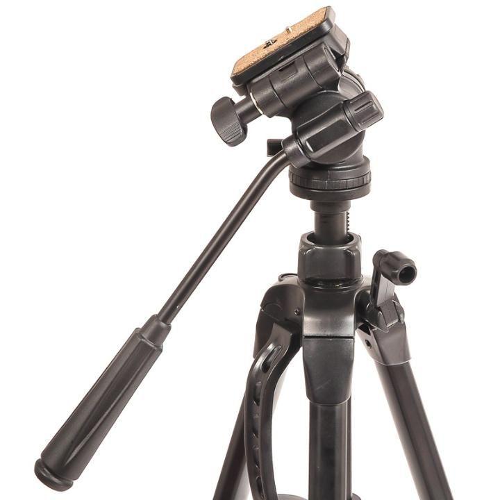 Tripé de Câmera com Cabeça Hidráulica 160cm Weifeng WT3716