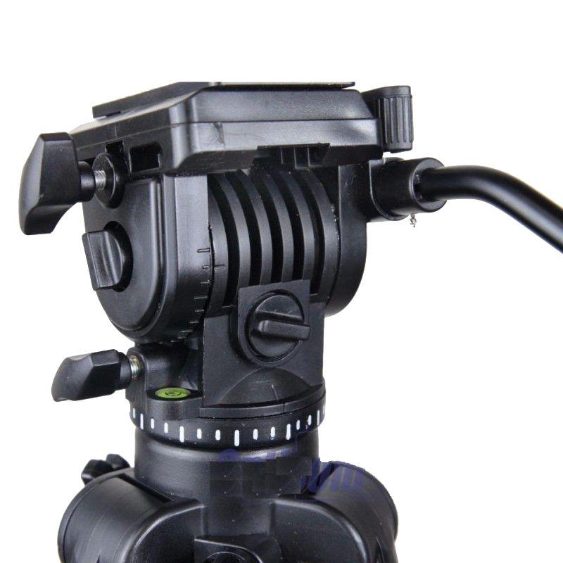 Tripé de Câmera com Cabeça Hidraúlica 170cm Digipod TR688V  - Fotolux