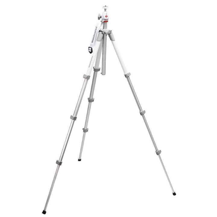 Tripé de Câmera Manfrotto Compact Light MKC3-PF 130cm Cabeça Ball Head