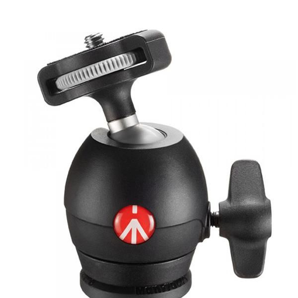 Tripé de Câmera Manfrotto Compact Light MKCOMPACTLT-BK 131cm