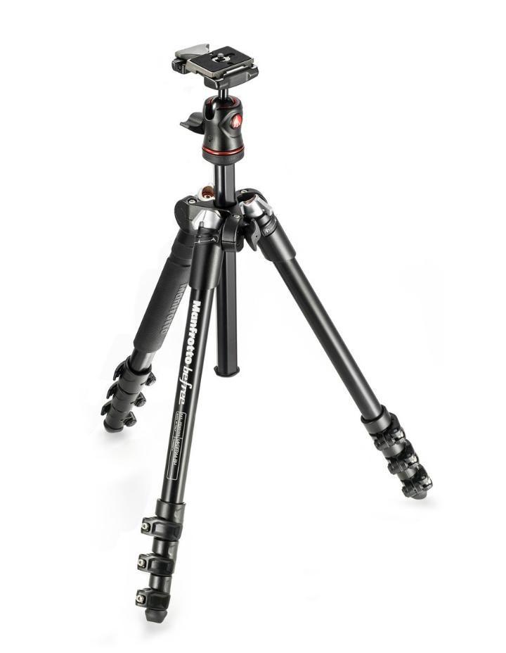 Tripé de Câmera Manfrotto MKBFRA4-BH Ball Head Série Befree 144cm
