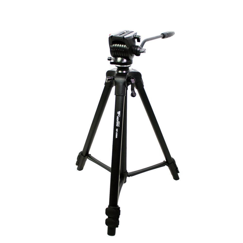 Tripé de Câmera Weifeng WT3308-A 174cm para Foto e Vídeo