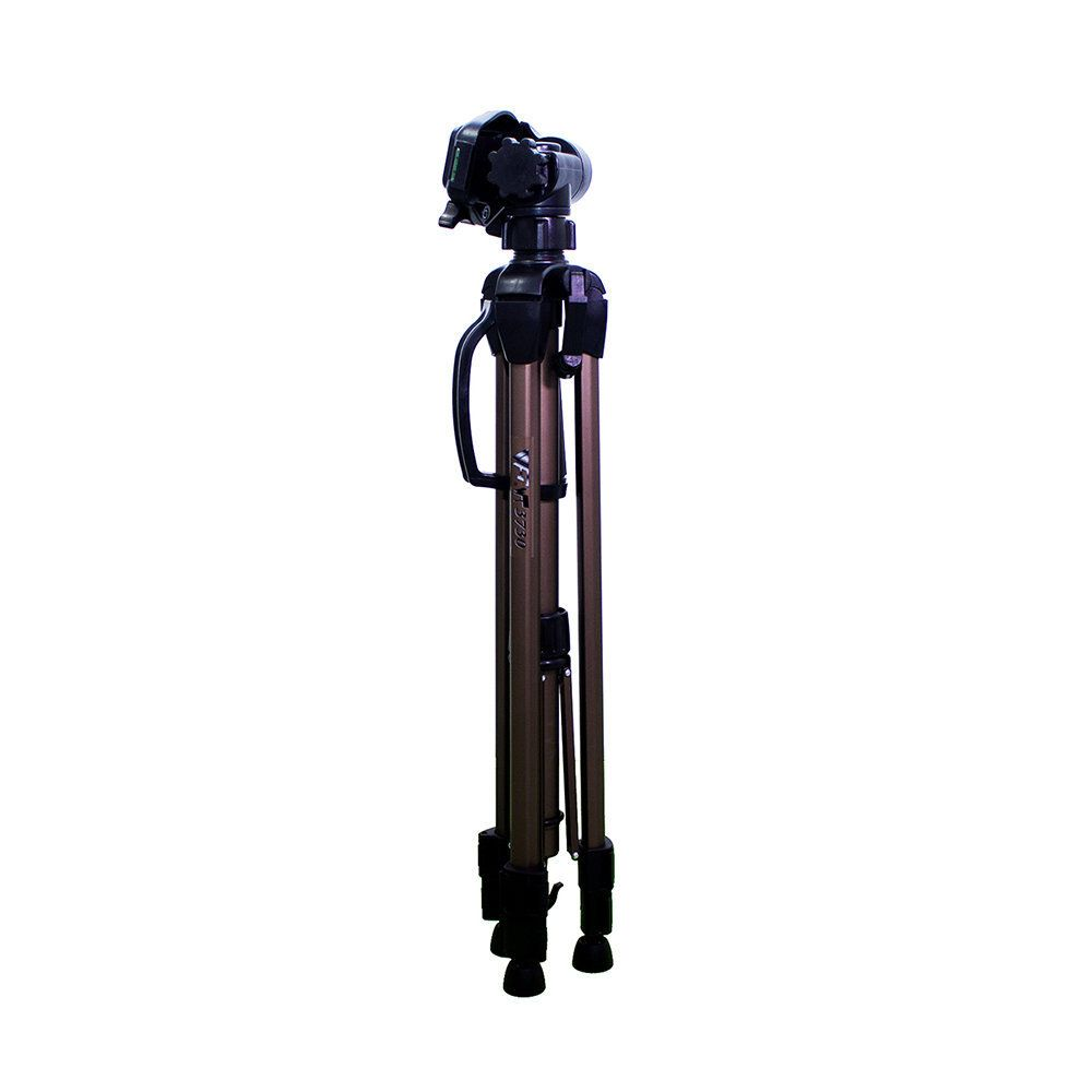 Tripé de Câmera Weifeng WT-3730 153cm Altura em Alumínio para Foto e Vídeo