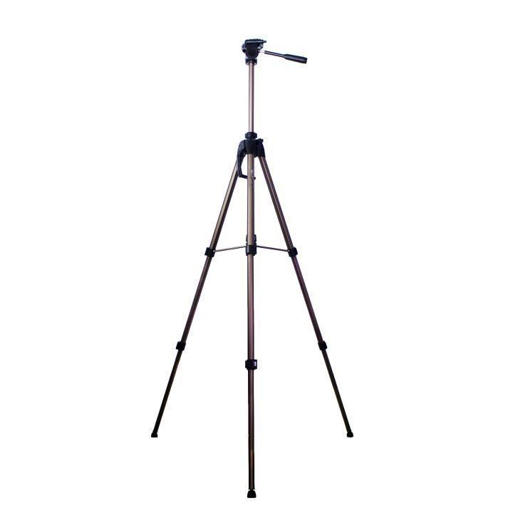 Tripé de Câmera Weifeng WT-3770 até 164cm Altura em Alumínio para Foto e Vídeo