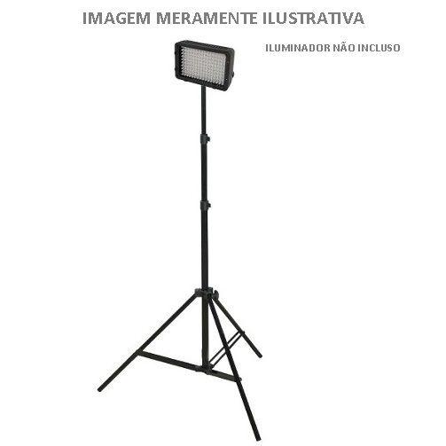 Tripé de Iluminação de 2.4 Metros Greika YH804 para Estúdio Fotográfico e Equipamentos de Iluminação