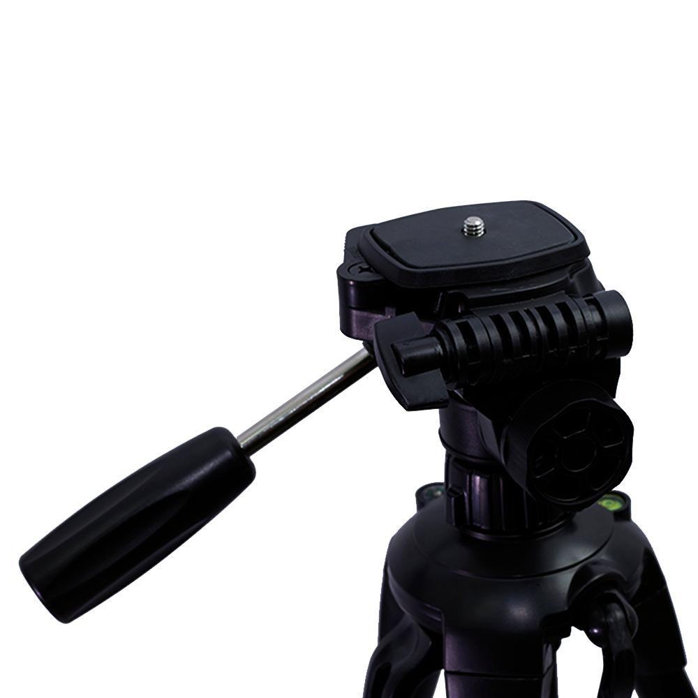 Tripé Easy ET-8512 de até 133cm para Câmeras e Filmadoras