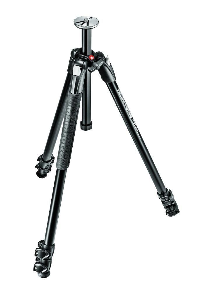 Tripé Manfrotto 160cm MT290XTA3 para Câmeras DSLR e Filmadoras  - Fotolux