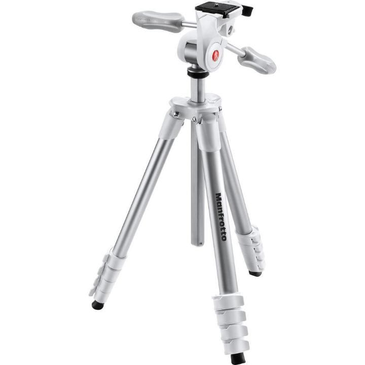 Tripé Manfrotto Compact Advanced White MKCOMPACTADV-WH 165cm