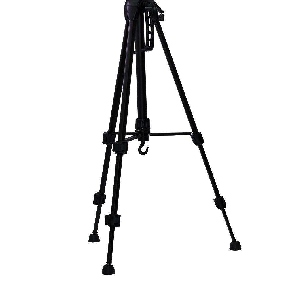 Tripé Nest KT-2013 154cm de Altura  Cabeça 3 Vias para Câmeras e Filmadoras