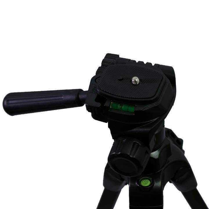Tripé Nest KT-2013-C 141cm Cabeça 3 Vias para Câmeras e Filmadoras