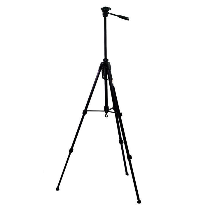 Tripé Nest KT-2018 167cm Cabeça 3 Vias para Câmeras e Filmadoras